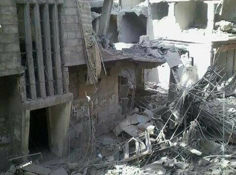 destruction of syria