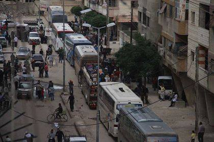 New displacement of Palestinians from Damascus on the impact