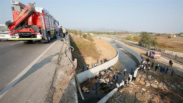 Truck Accident Claims Lives of 22 Migrants West of Turkey